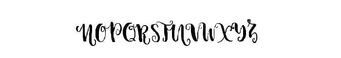 Candyland-Regular Font UPPERCASE