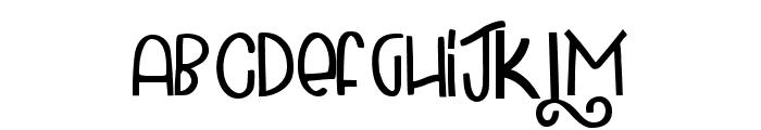 Carbonara Font LOWERCASE