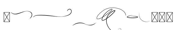 Careza Riz Swashes Font OTHER CHARS