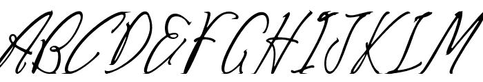 Careza Riz Font UPPERCASE