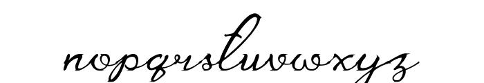 Careza Riz Font LOWERCASE