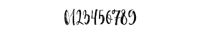 Caricia-Regular Font OTHER CHARS