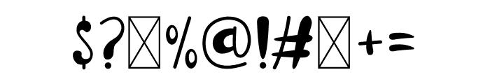 Carina Font OTHER CHARS