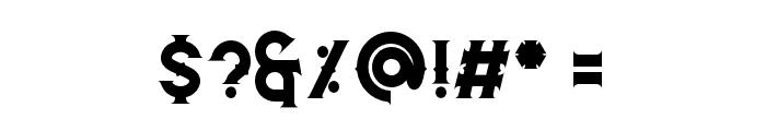 Caringin Font OTHER CHARS