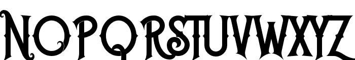 Caringin Font UPPERCASE