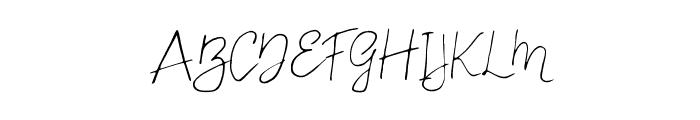 Carnation Regular Font UPPERCASE
