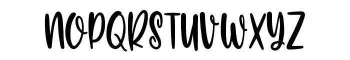 Carolina Font Regular Font LOWERCASE