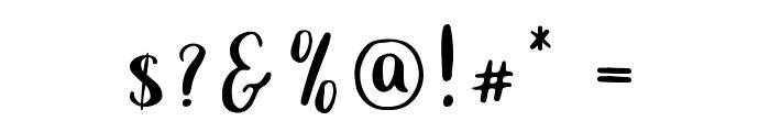 Carolina-Regular Font OTHER CHARS