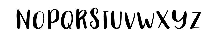 Carolina-Regular Font UPPERCASE