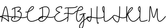 Caroline Bellish Font UPPERCASE