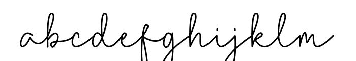 Caroline Bellish Font LOWERCASE