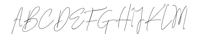 Carolline Font UPPERCASE