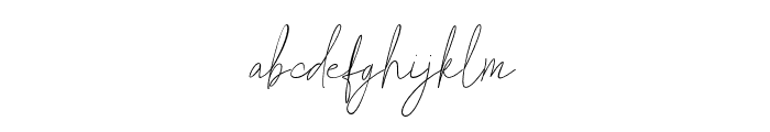 Carolline Font LOWERCASE