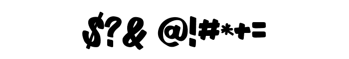 Cartame Font OTHER CHARS