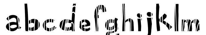 Cartoonilo Wood And Leaf Font LOWERCASE