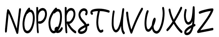 Casablanca-Bold Font UPPERCASE