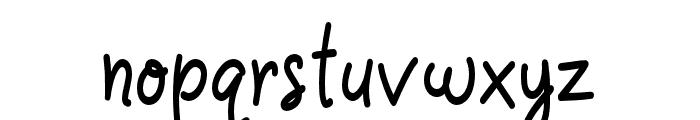 Casablanca-Bold Font LOWERCASE
