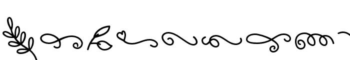 Casablanca-Doodles Font OTHER CHARS