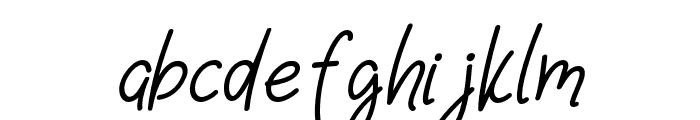 Casablanca-Italic Font LOWERCASE
