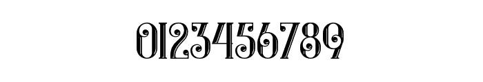 Castile Inline Font OTHER CHARS