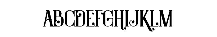 Castile Regular Font LOWERCASE