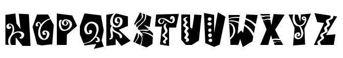 Castillo-Bold Italic Font UPPERCASE