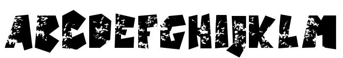 Castillo-Italic Font UPPERCASE