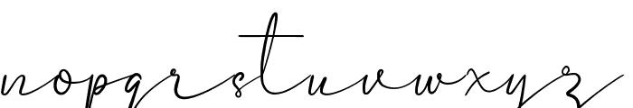 Castyla Font LOWERCASE