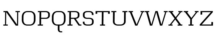 Casual regular Font UPPERCASE