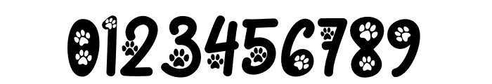 Cat Paw Font OTHER CHARS