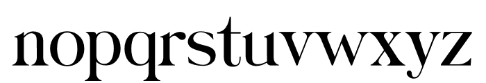 Catalina Rayden Font LOWERCASE
