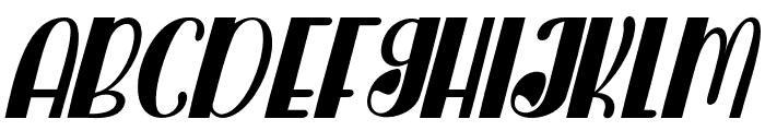 Catfish Regular Font UPPERCASE