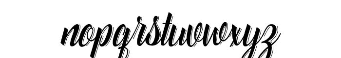 Catfish line Script Font LOWERCASE