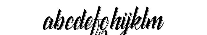 CatfishlineScript Font LOWERCASE