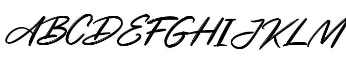 Cendiland Font UPPERCASE