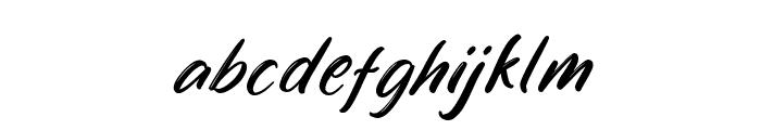 Cendiland Font LOWERCASE