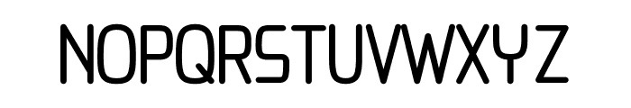 Chai regular Font UPPERCASE
