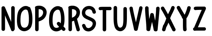 ChainsBold Font LOWERCASE