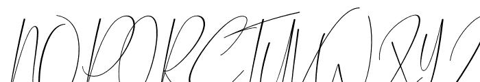 Chalisha Font UPPERCASE