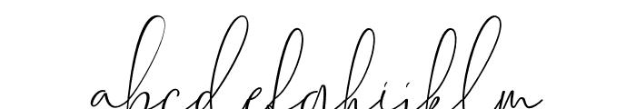 Chalisha Font LOWERCASE