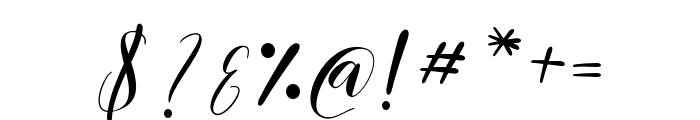 ChamomileClaireScript-Regular Font OTHER CHARS
