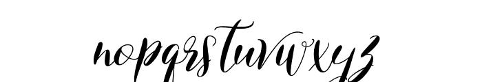 ChamomileClaireScript-Regular Font LOWERCASE