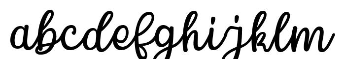 Chamomile Font LOWERCASE