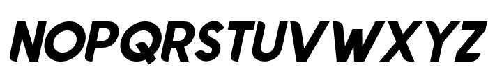 Chardy Bold Slanted Font UPPERCASE