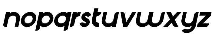 Chardy Bold Slanted Font LOWERCASE