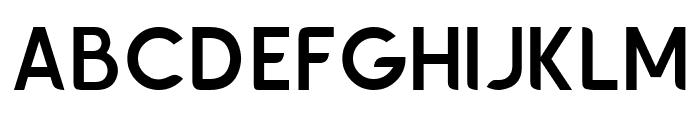Chardy Medium Font UPPERCASE