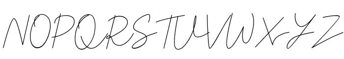 Chardy Script Font UPPERCASE