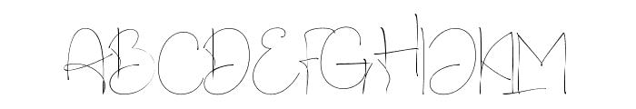Charles Bridge Regular Font UPPERCASE