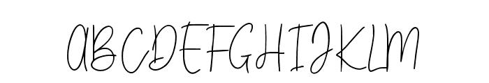 Charleston Regular Font UPPERCASE