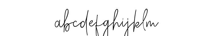 Charleston Regular Font LOWERCASE